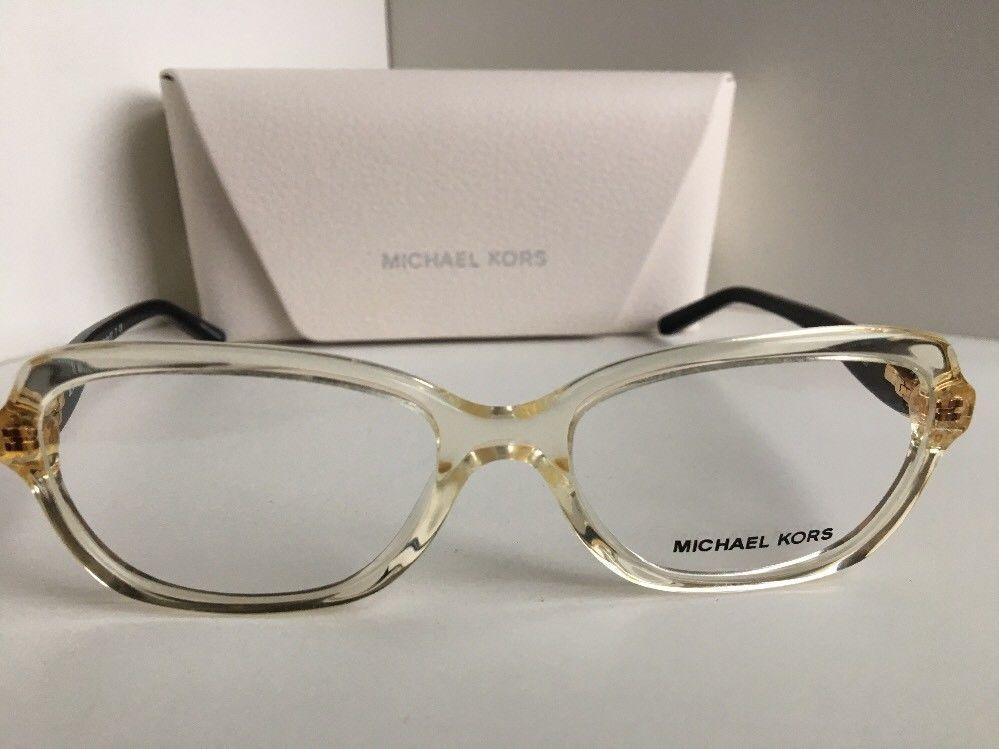 New MICHAEL KORS MK 4025 Clear 3086 51mm Women's Eyeglasses Frame