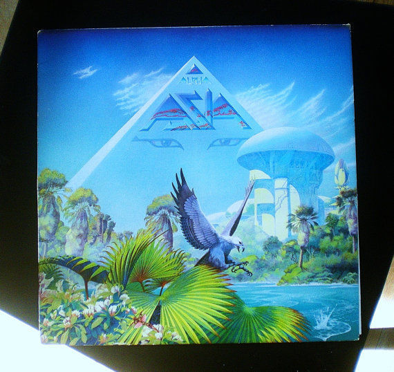 Asia: Alpha Vinyl Record Album (1983, Geffen Records) ~ Used LP