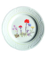 Louis Lourioux Salad Plate Wild Flowers France - $19.99