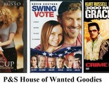 TIN CUP+ SWING VOTE+ 3000 MILES TO GRACELAND- Kevin Costner [DVD 3 Movie lot]