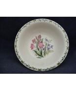 "Thomson Floral Garden 7"" Soup Bowl Pink & Blue Flowers - $9.99"