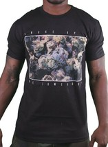 Dope Couture Fumée Dessus Herbe Bouton Marijuana Canabis Be Somebody Noir Tshirt
