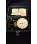 Used-3-034-Dial-Hand-Held-Tachometer-Kit-Multiple-Ranges-James-G-Biddle-Co - $79.97