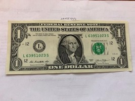 United States $1.00 banknote 2013 - $4.95