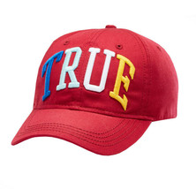 Men's True Religion Embroidered Rainbow 3D Cap Baseball Sport Strapback Hat image 2