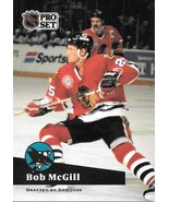 Bob McGill ~ 1991-92 Pro Set #47 ~ Blackhawks - $0.05