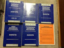 2002 Dodge DAKOTA TRUCK Service Repair Shop Workshop Manual Set W DIAGNO... - $188.04
