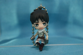 Bandai Attack on Titan Gashapon Mini Figure Keychain Swing P2 Eren Yeager - $19.99