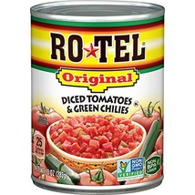 ROTEL Original Diced Tomatoes and Green Chilies, Keto Friendly, 10 Ounce - $7.04