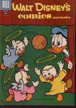 WALT DISNEY'S COMICS & STORIES #205 DONALD DUCK  BARKS VG - $14.55