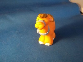 Fisher Price Little People Baby Camel With Blue Bow- Baby Zoo Animal Set - $6.75