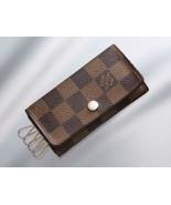 Vuitton Damier Quadruple Key Case FRANCE Ladies Accessories Key Case - $129.63