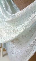 LIGHT BLUE High Low Lace Dress Sleeveless SomethingBlue Wedding Bridesmaid Dress image 2