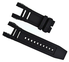 BLACK SILICONE RUBBER WATCH BAND STRAP FOR INVICTA SUBAQUA NOMA IV NOMA ... - $6.93