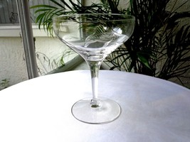 Tiffin Franciscan #17664-2 Clear Crystal Champagne Glass - Retired - $9.90