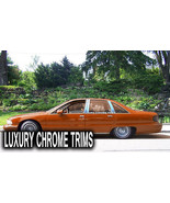 Chevy Caprice Stainless Steel Chrome Pillar Posts by Luxury Trims 1991-1... - $79.70