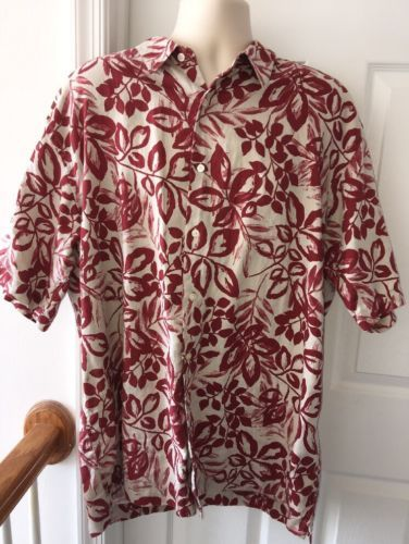 346f3039 Eddie Bauer Red Wine Floral Tropical and 50 similar items. 12