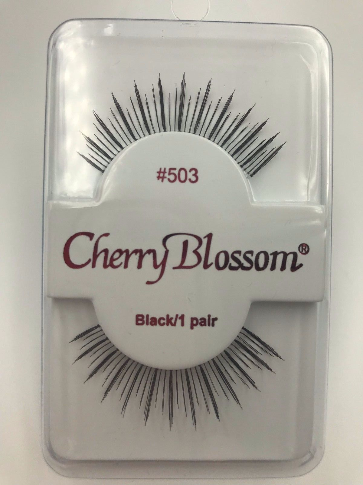 Primary image for CHERRY BLOSSOM EYELASHES MODEL# 503 BLACK 1 PAIR PER EACH PK