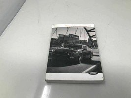 2017 Ford Fusion Owners Manual Case Handbook OEM ZOF21 - $15.99