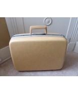 "Yellow Samsonite Silhoette Hard Shell Luggage Hardcase Key 15"" Tall x 20... - $39.10"