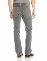 Levi's 501 Men's Original Fit Straight Leg Jeans Button Fly Gray 501-2149