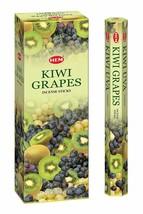 Hem Kiwi Grapes Incense Sticks Fragrances Kiwi and Grapes 120 Agarabatti - $10.49