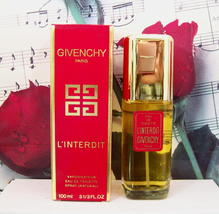 Givenchy L'Interdit EDT Spray 3.3 FL. OZ. NWB Red Box. - $359.99