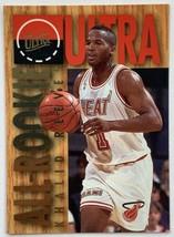 1994-95 Fleer Ultra All-Rookie Khalid Reeves #10 Rookie Miami Heat Card - $3.91