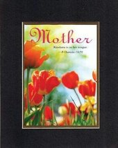 Poems for Mother's Day - Mother Kindly teaching is on her tongue  Proverbs 31:26 - $11.14