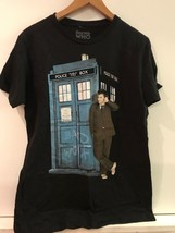 Dr. Who Tardis Black Ripple Junction Small T-Shirt - $17.95