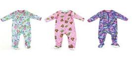 24M Infant Girls Sleeper One-Piece Too-Nite Baby Pajamas Cute Designs!
