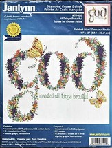 Janlynn Counted Cross Stitch Kit: God Created All Things Beautiful - $15.84