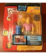 The Simpsons World Of Springfield Interactive Figure Freddy Quimby #13 - $19.79