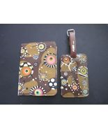 Pylones Paris travel set passport case and luggage tag - $30.00