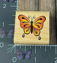 Stampcraft Butterfly Designed Wings Rubber Stamp 2005 440D375A #Q156 - $1.73