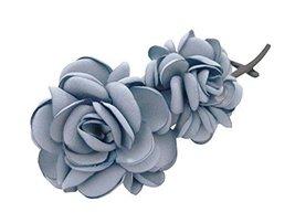 Banana Clip Hair Ornaments Twisted Folder Clip Vertical Hairpin,Grey Blue image 2