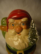 Vaillancourt Folk Art Jolly Santa with Bells on Shoes image 5