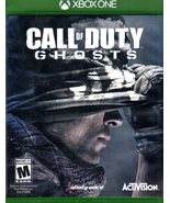 Call of Duty: Ghosts - MIcrosoft Xbox One, 2013 - $8.95