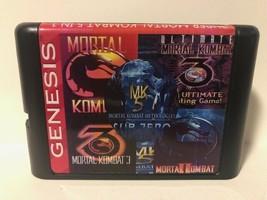 Super Mortal Kombat 5 in 1 for the Sega Genesis / Mega Drive Systems - $14.06