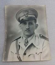 old original photo of italian fascism officer-propaganda-25.5 cm x 18 cm... - $17.82