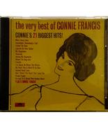 The Very Best of Connie Francis (21 tracks) (Polydor) [Audio CD] Connie ... - $9.00