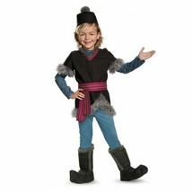 Disguise Disney Frozen Movie Kristoff Deluxe Childrens Halloween Costume... - $42.82