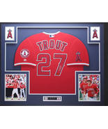 Mike Trout framed autograph jersey LA Angels - $995.00