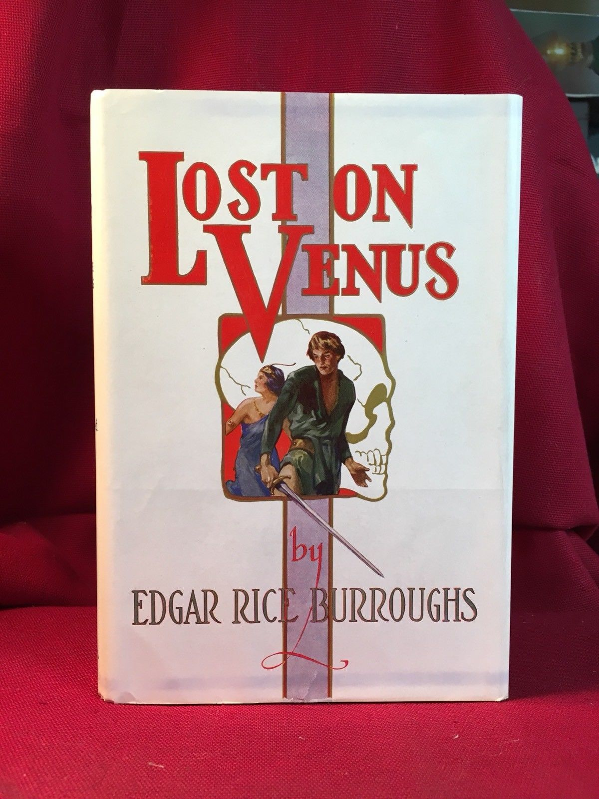 LOST ON VENUS - Edgar Rice Burroughs - 1st Edition in Dust Jacket