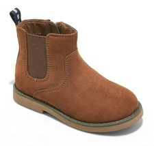 Toddler Baby Boys Breck Casual Chestnut Brown Chelsea Boots Cat & Jack Sz 5 NWT