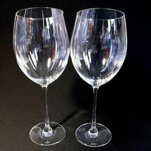 "2 (Two) LENOX TUSCANY CLASSICS Grand Bordeaux Wine Goblets 27 oz 10.5"" -... - $20.89"