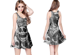 Gorillaz  WOMENS REVERSIBLE SLEEVELESS SHORT MINI DRESS - $17.99+