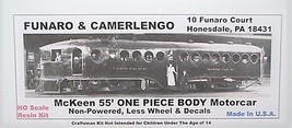 Funaro & Camerlengo HO Mckeen 55' Motor Car ONE PIECE BODY,non-powered kit 703 image 1