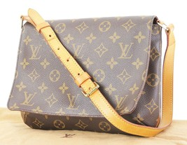 Authentic LOUIS VUITTON Musette Tango Monogram Shoulder Bag Purse #33049 - $599.00
