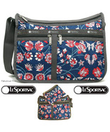 LeSportsac Blissful Vision Deluxe Everyday Crossbody Bag Cosmetic NWT Fr... - $92.00